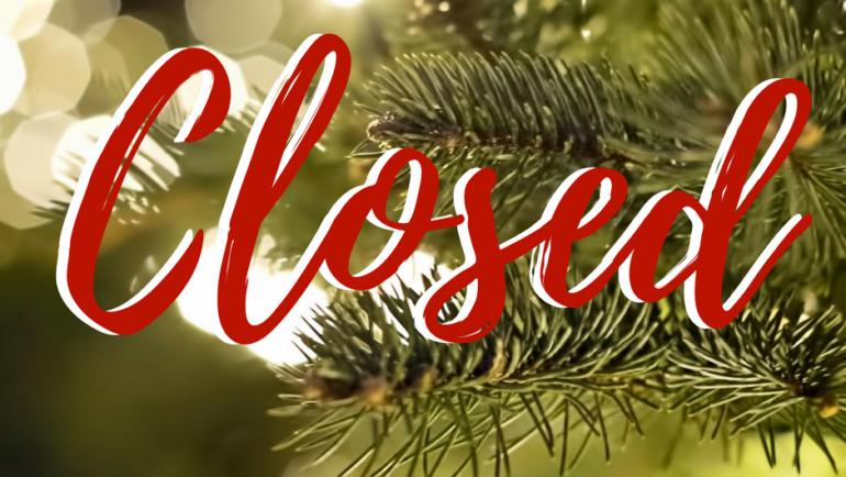 CLOSED – Christmas Day